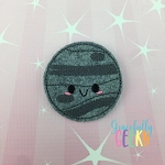Kawaii Mercury Feltie ITH Embroidery Design 4x4 hoop (and larger)