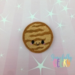 Kawaii Venus Feltie ITH Embroidery Design 4x4 hoop (and larger)