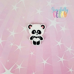 Panda 1 Feltie ITH Embroidery Design 4x4 hoop (and larger)