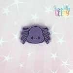 Kawaii Spider Felties ITH Embroidery Design 4x4 hoop (and larger)
