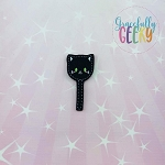 Black Cat Cakepop Feltie ITH Embroidery Design 4x4 hoop (and larger)