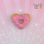 Donut 7 Stuffie Embroidery Design - 4x4 Hoop or Larger {Release: Sept18 W3 10/26}