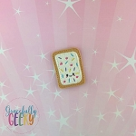 Sprinkles Poptart Feltie ITH Embroidery Design 4x4 hoop (and larger)  Sept18 W4 10/26
