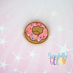 Donut 2 Feltie ITH Embroidery Design 4x4 hoop (and larger)