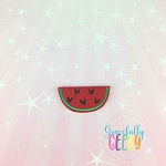 Watermelon Slice Feltie  ITH Embroidery Design 4x4 hoop (and larger)