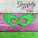 Poison Mask Embroidery Design - 5x7 Hoop or Larger