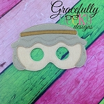 Joseph Mask Embroidery Design - 5x7 Hoop or Larger