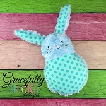 Bunny Stuffie 2016 ITH Embroidery Design - 5x7 Hoop or larger
