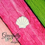 Seashell Feltie ITH Embroidery Design 4x4 hoop (and larger)