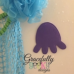 Octopus Foam Bath Toy ITH Embroidery Design 4x4 hoop (and larger)