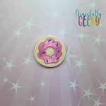 2 Donut Feltie ITH Embroidery Design 4x4 hoop (and larger)  Release: Nov26 October W2