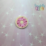 4 Donut Feltie ITH Embroidery Design 4x4 hoop (and larger)  Release: Nov26 October W2