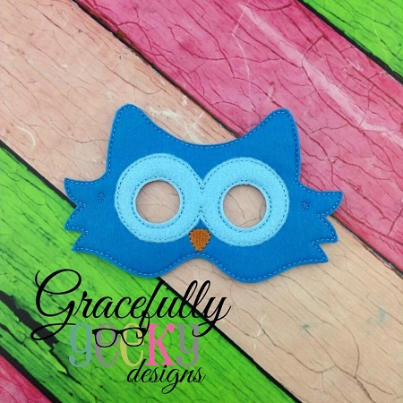 Owl Felt Mask Embroidery Design - 5x7 Hoop or Larger Home Construction Embroidery Designs on construction tattoo designs, construction applique, construction business logo designs, construction quilting designs, construction paper designs, construction screen printing designs, construction home designs, construction tools, construction bday cake, construction print designs, construction estimating software, construction embroidery logos, construction specification sheet, construction shirts designs,