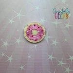 5 Donut Feltie ITH Embroidery Design 4x4 hoop (and larger)  Release: Nov26 October W2   (COPY)