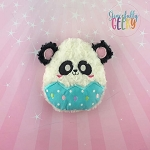 Panda Easter Egg Stuffie Embroidery Design - 5x7 Hoop or Larger