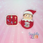 Elf iSpy 2 Embroidery Design - 5x7 Hoop or Larger