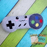 Controller Stuffie Embroidery Design
