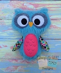 Owl Stuffie Embroidery Design