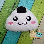 Rice Ball Stuffie Embroidery Design