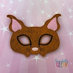 BobCat Mask  Embroidery Design - 5x7 Hoop or Larger