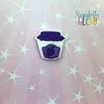 Grape Jam Feltie ITH Embroidery Design 4x4 hoop (and larger)
