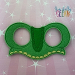Lizard Mask  Embroidery Design - 5x7 Hoop or Larger