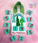 Countdown to Grinchmas Embroidery Design - 5x7 Hoop or Larger Release: Nov26 OCTW3