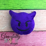 Evil Stuffie Embroidery Design - 5x7 Hoop or Larger