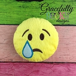 Sad Stuffie Embroidery Design - 5x7 Hoop or Larger