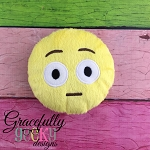 Shocked Stuffie Embroidery Design - 5x7 Hoop or Larger