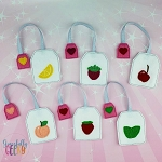Felt Tea Bags ITH Embroidery Design 4x4 hoop (and larger)  Release: Nov26 October W1