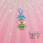 Candy Land Crew Elf Ornament Embroidery Design - 4x4 Hoop or Larger