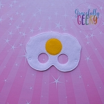 Egg Mask Embroidery Design - 5x7 Hoop or Larger