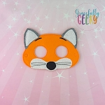 Fox Mask Embroidery Design - 5x7 Hoop or Larger