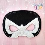 Antonio Mask Embroidery Design - 5x7 Hoop or Larger