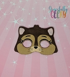 KCC Chase Mask Embroidery Design - 5x7 Hoop or Larger