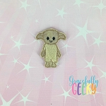 House Elf Feltie ITH Embroidery Design 4x4 hoop (and larger)