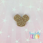 Pretzel Feltie ITH Embroidery Design 4x4 hoop (and larger)
