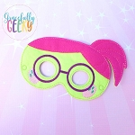 HT Wendy Mask Embroidery Design - 5x7 Hoop or Larger