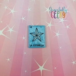 La Estrella Feltie ITH Embroidery Design 4x4 hoop (and larger)