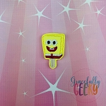 Sponge Popsicle Feltie ITH Embroidery Design 4x4 hoop (and larger)
