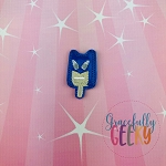 Bat Popsicle Feltie ITH Embroidery Design 4x4 hoop (and larger)