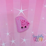 Kawaii Breast Feltie ITH Embroidery Design 4x4 hoop (and larger)