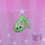 Kawaii Gallbladder Feltie ITH Embroidery Design 4x4 hoop (and larger)