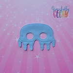 Jellyfish Mask Embroidery Design - 5x7 Hoop or Larger