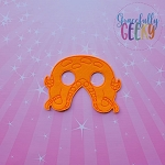 Octopus Mask Embroidery Design - 5x7 Hoop or Larger