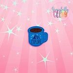 Explore Mug Feltie ITH Embroidery Design 4x4 hoop (and larger)