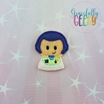 Space Ranger Toy Feltie ITH Embroidery Design 4x4 hoop (and larger)