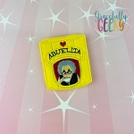Chocolate Abuelita Feltie ITH Embroidery Design 4x4 hoop (and larger)