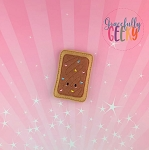 Chocolate Poptart  Embroidery Design - 4x4 Hoop or Larger